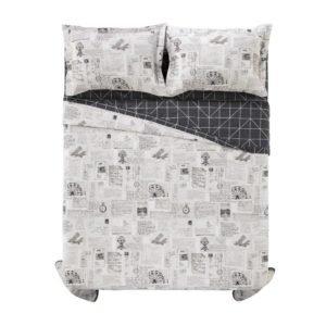 95a211e055 Colcha Cobre Leito Com Porta Travesseiro Karsten 180 Fios Benício (02  opções de tamanhos)