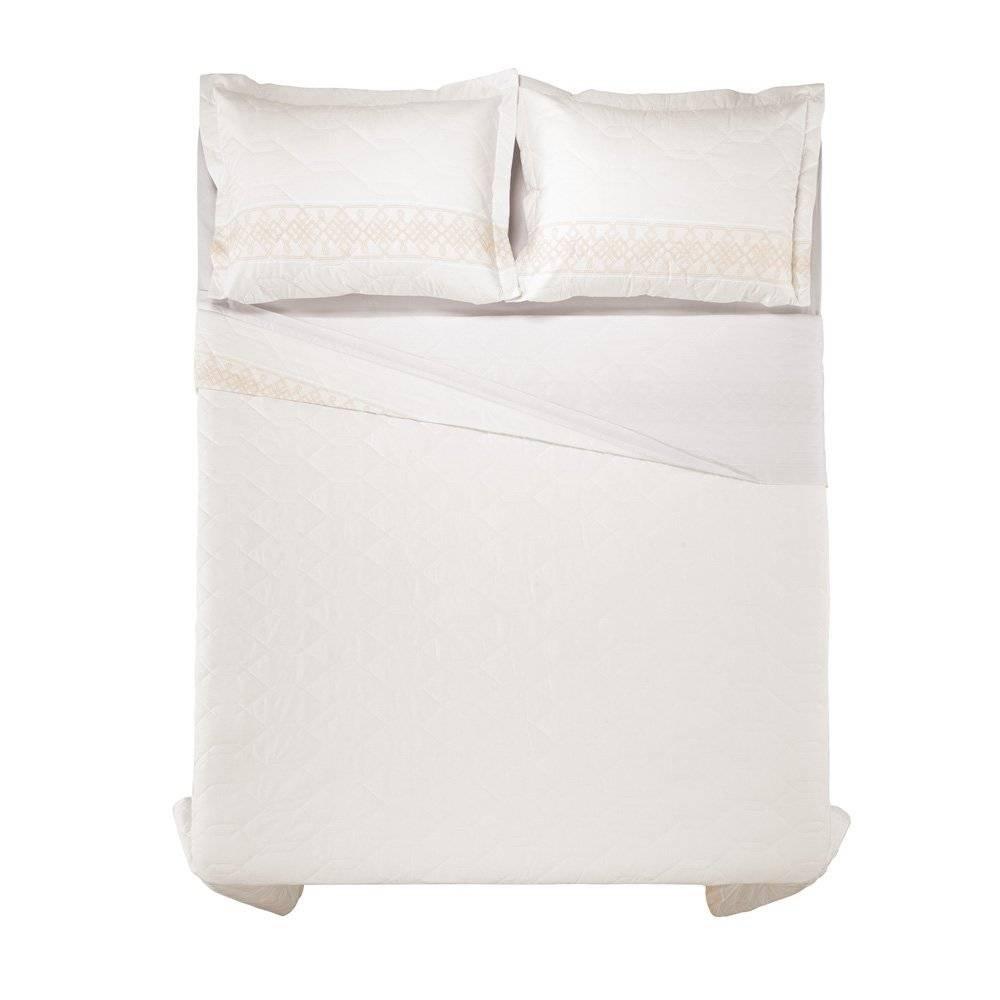 4155a1aea4 Cobre Leito Com Porta Travesseiro Karsten 180 Fios Olímpia (04 opções de  tamanhos) - Casa do Enxoxal